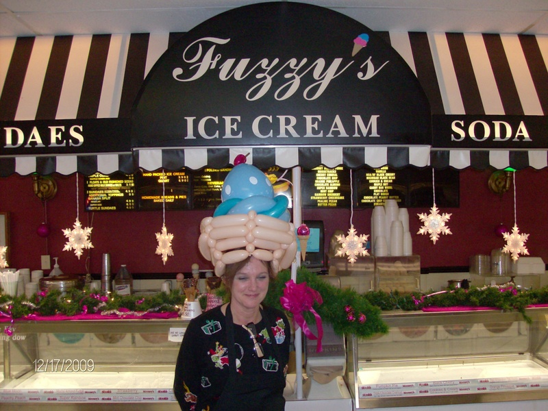 Fuzzy's Ice Cream parlor