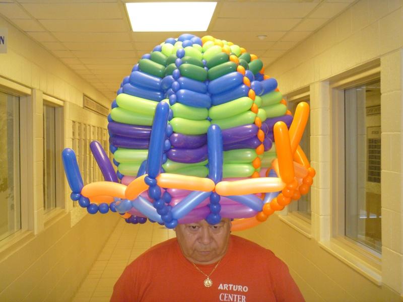 Even bigger hat