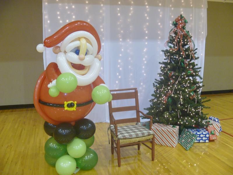 Santa at home